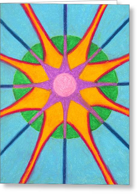 Spirit Mandala Greeting Card