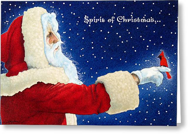 Spirit Of Christmas... Greeting Card