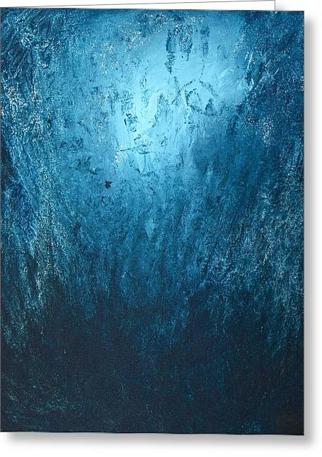 Spirit Of Life - Abstract 3 Greeting Card by Kume Bryant