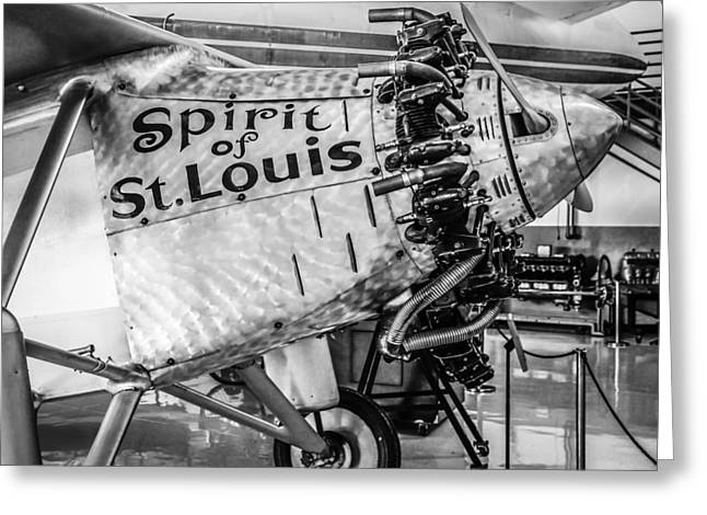 Spirit Of St. Louis Greeting Card by Chris Smith