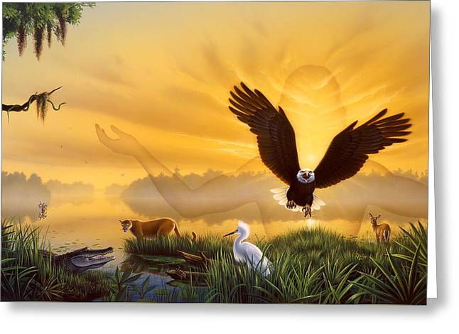 Spirit Of The Everglades Greeting Card