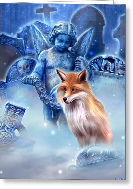 Spirit Of The Fox Greeting Card