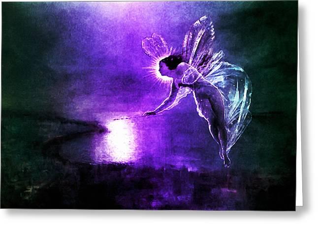 Spirit Of The Night Greeting Card