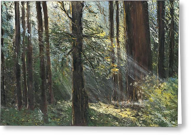 Spirit Woods Greeting Card