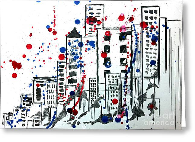 Spirit - Your Soul And Spirit Is In The City Greeting Card