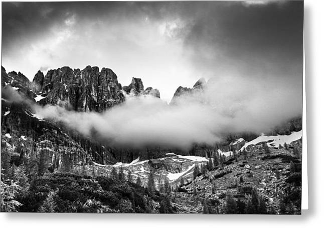 Spirits Of The Mountains Greeting Card