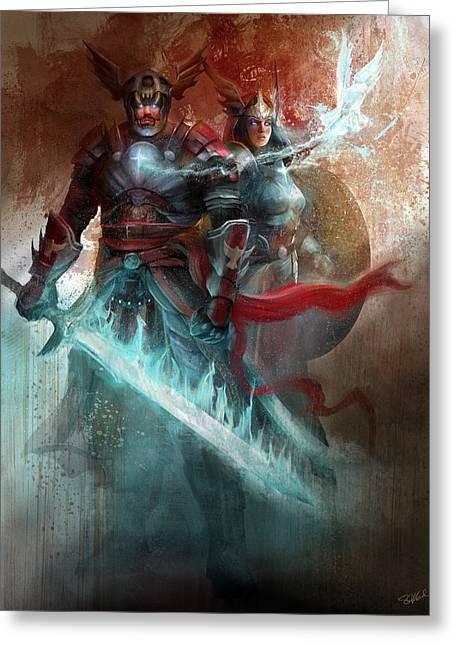 Spiritual Armor Greeting Card