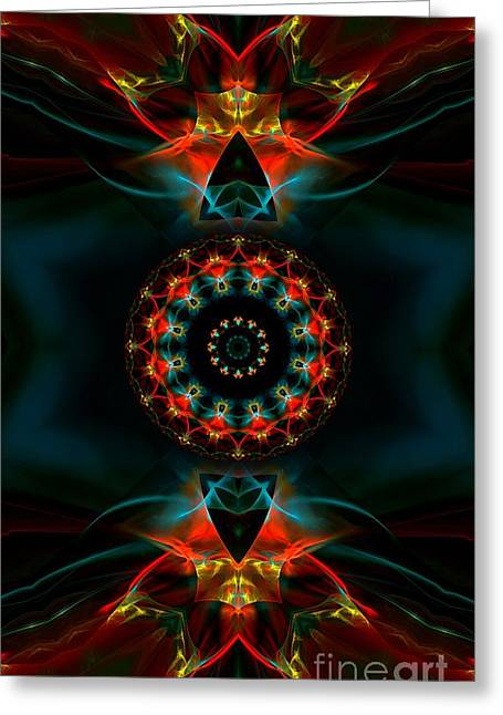 Spiritual Magic Greeting Card