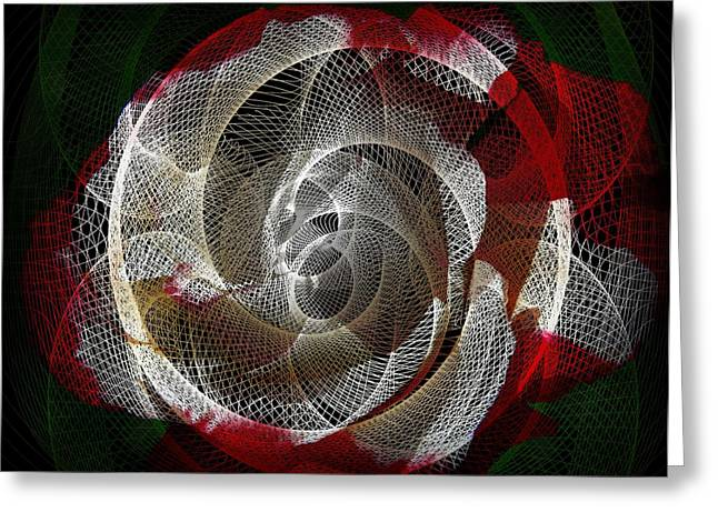Greeting Card featuring the photograph Spiro by Athala Carole Bruckner