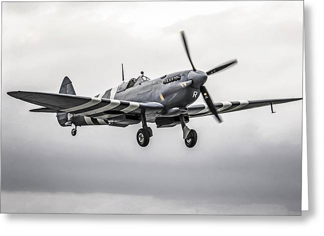 Spitfire Coming Home Greeting Card