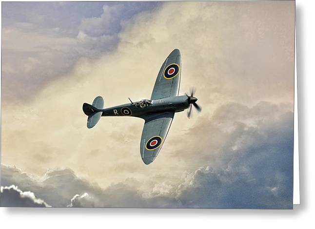 Spitfire Lf Mk Greeting Card