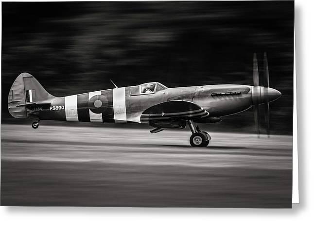 Spitfire Mk Xix Greeting Card