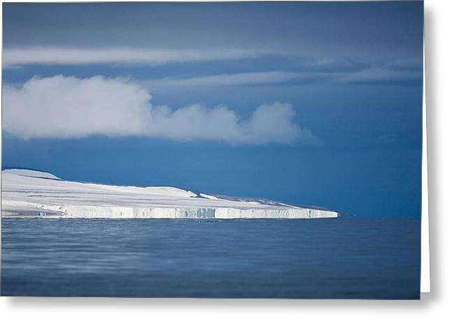 Spitsbergen Island, Svalbard, Norway Greeting Card by Panoramic Images