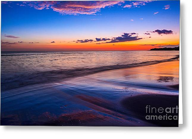 Splashes Of Color - Maui Greeting Card by Jamie Pham