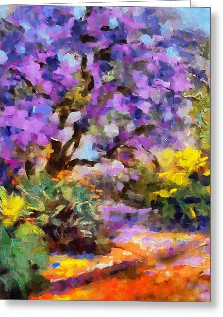 Splendor Of Nature Greeting Card by Georgiana Romanovna