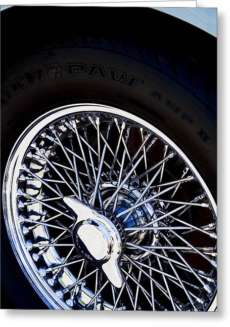 Spokes Greeting Card