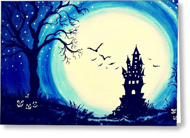 Spook House Greeting Card