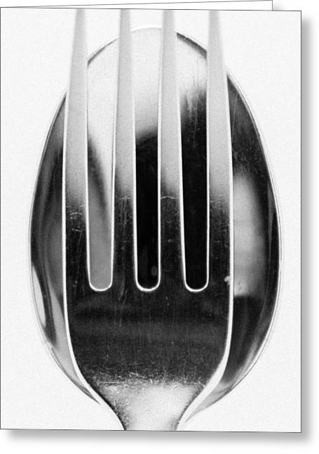 Spoon Me Greeting Card by Wade Brooks