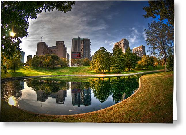 Greeting Card featuring the photograph Spoonful Of St. Louis by Deborah Klubertanz