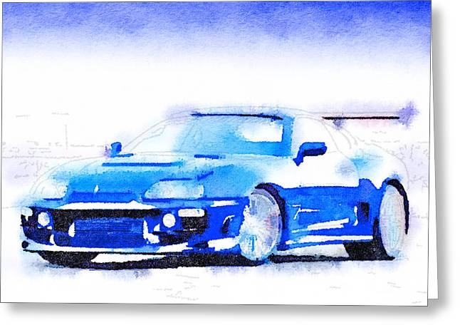 Sport Car 1 Greeting Card