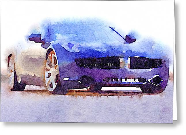 Sport Car 2 Greeting Card