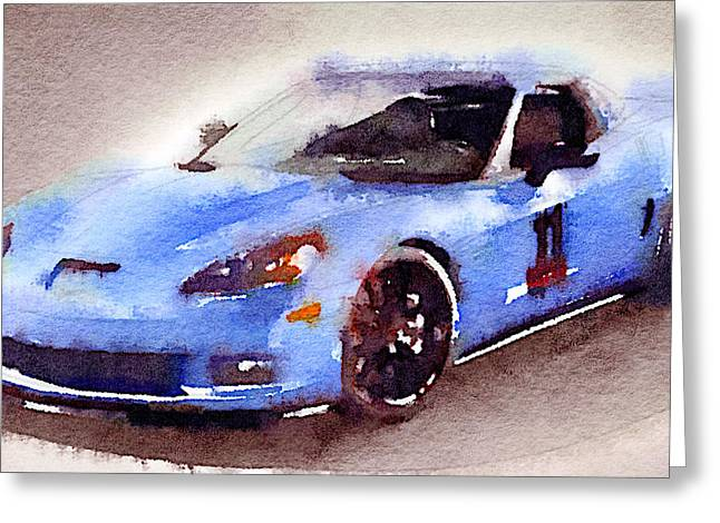Sport Car 4 Greeting Card