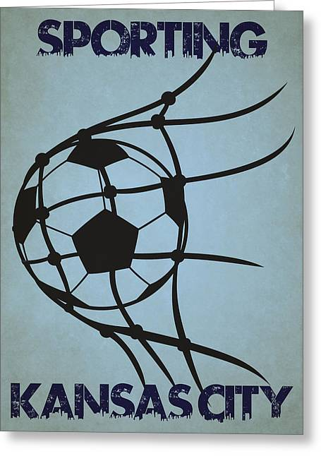 Sporting Kansas City Goal Greeting Card by Joe Hamilton