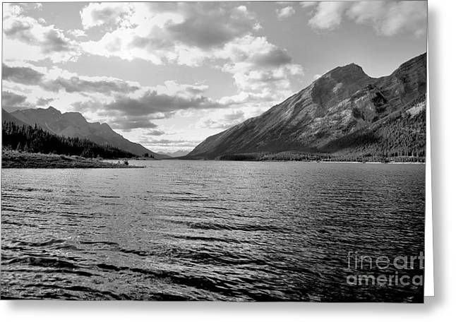 Spray Lake Greeting Card
