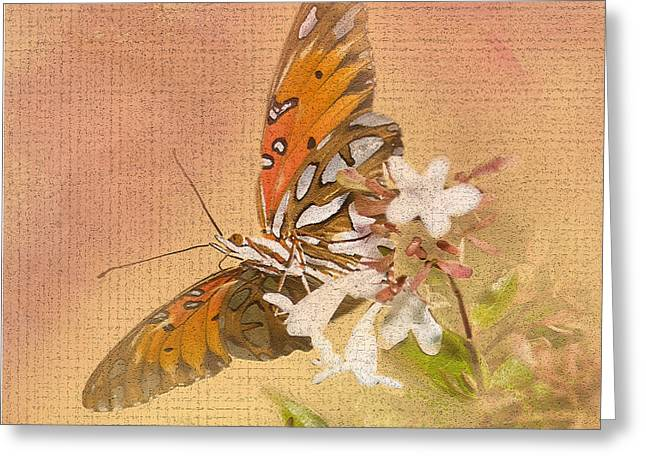 Spreading My Wings Greeting Card by Betty LaRue