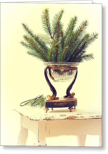 Sprigs Of Pine Greeting Card