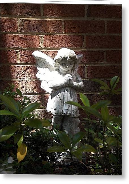 Angel Of Hope Greeting Card