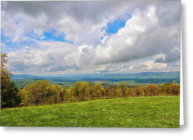 Spring Again In Shenandoah Greeting Card