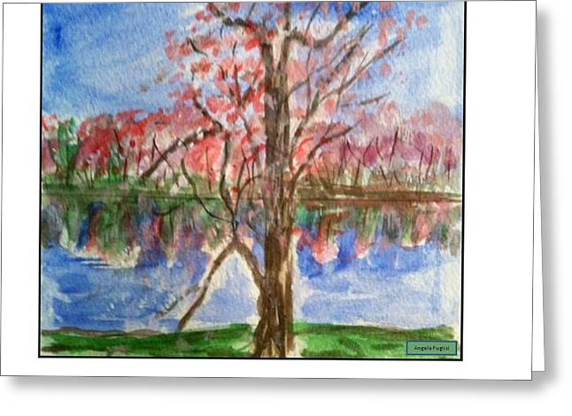 Spring Greeting Card by Angela Puglisi