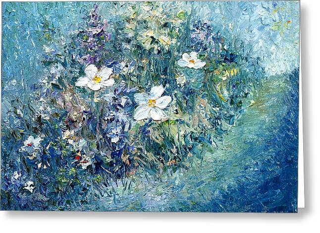Spring Awakening Greeting Card by Gail Fields