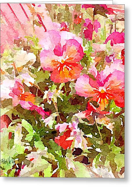 Spring Begins Greeting Card