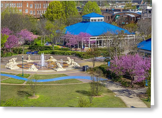 Spring Coolidge Park 2 Greeting Card