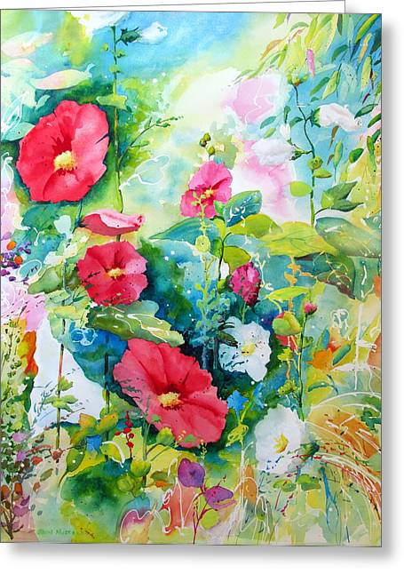 Spring Equinox Greeting Card