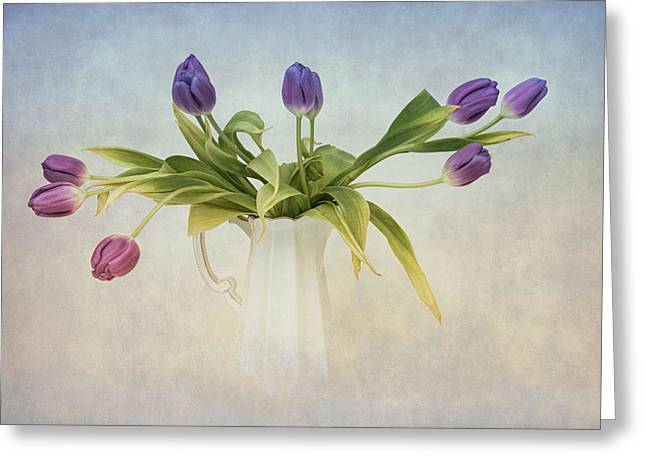 Spring Fling Greeting Card by Robin-Lee Vieira