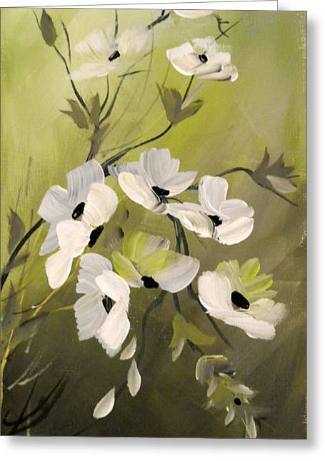 Spring Flowers Greeting Card by Dorothy Maier