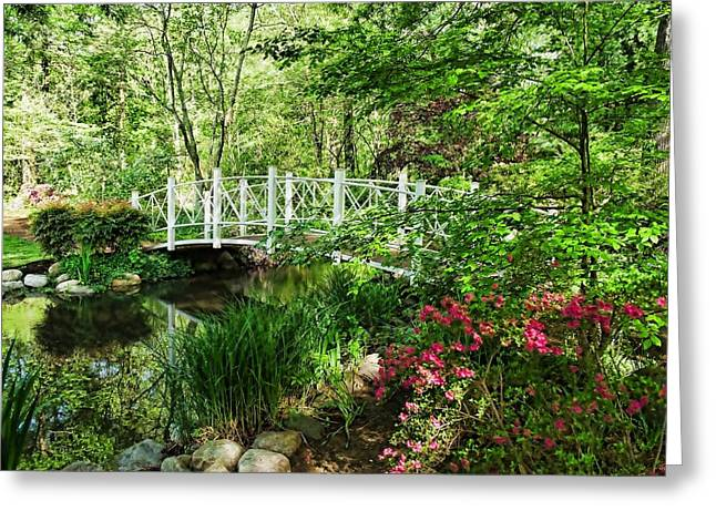 Spring Gardens Greeting Card