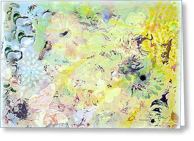 Spring Happiness Greeting Card by YoMamaBird Rhonda