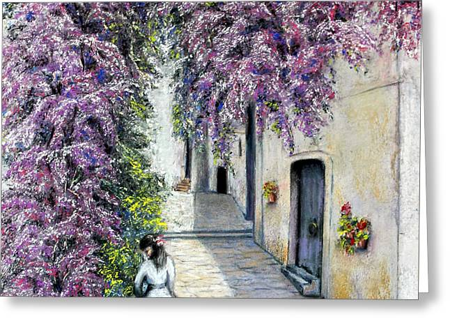Spring In Andalucia Greeting Card by Rosemary Colyer