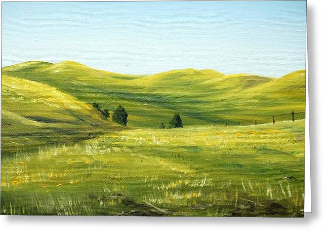 Spring In California Greeting Card by AnnaJo Vahle