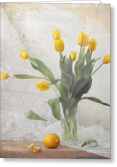 Spring Greeting Card by Irina No