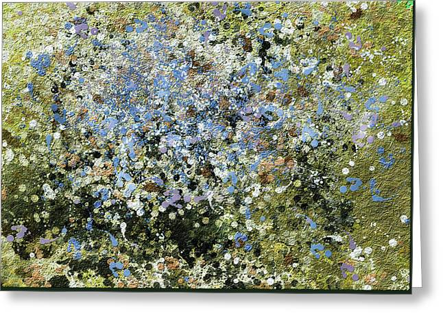 Spring Is Here - Abstract Greeting Card