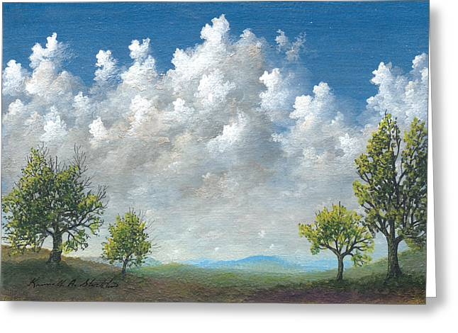 Spring Greeting Card by Kenneth Stockton