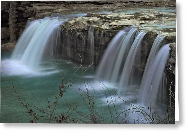 Spring King River Arkansas Greeting Card by Cindy Rubin