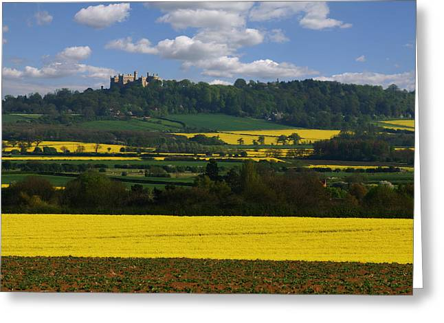 Spring Landscape Greeting Card