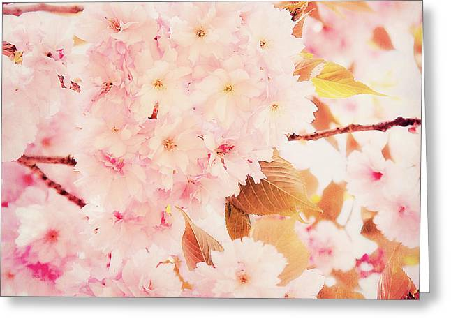 Spring Love Greeting Card by Angela Doelling AD DESIGN Photo and PhotoArt