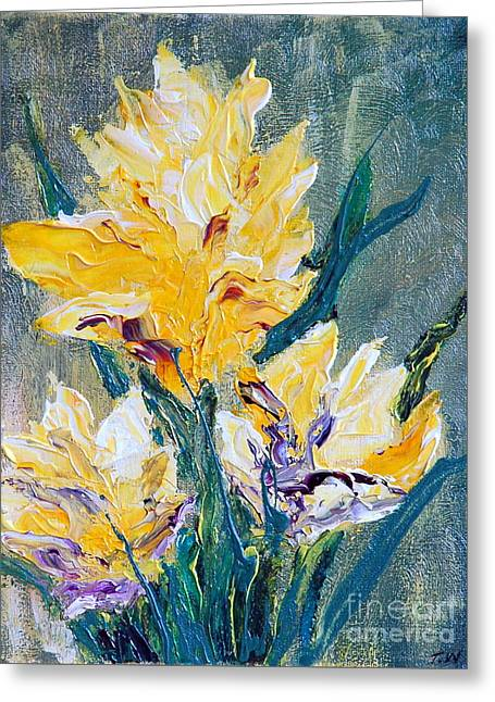 Spring Love Greeting Card by Teresa Wegrzyn